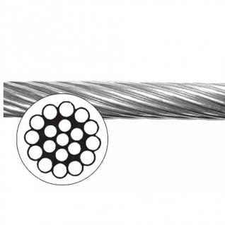 Трос нержавеющий, 1х19, 6 мм (10015675)