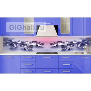 Стеклянный фартук для кухни БРИЛЛИАНТЫ-5901400