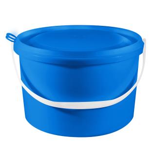 Ведро пластиковое с герметичной крышкой 10 литров