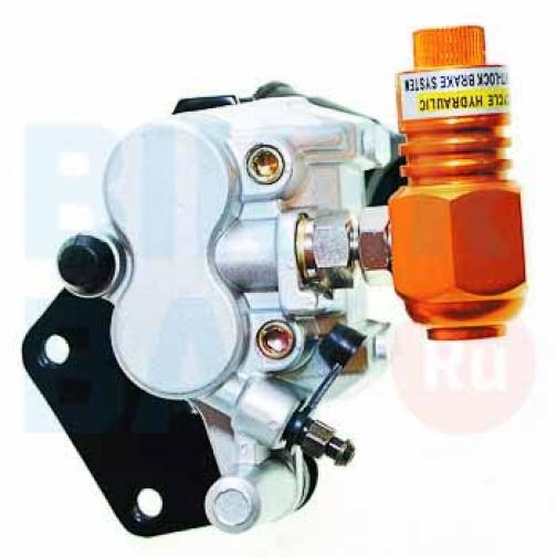 Суппорт тормоза переднего (2пор.) ABS NIRVANA, PALADIN, VOLCAN, Z50R, QT-7 (пр.)-6403459