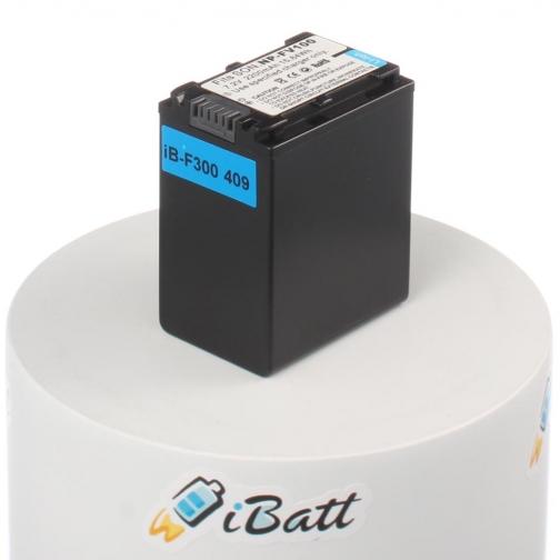 Аккумуляторная батарея iBatt для фотокамеры Sony DCR-SX73E. Артикул iB-F300 iBatt-6803931