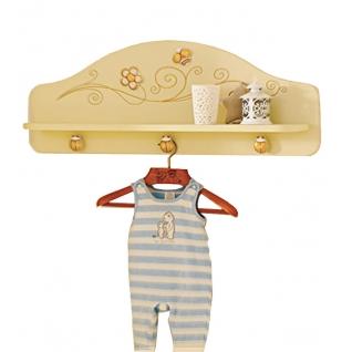 Полка-вешалка Baby Expert Полка-вешалка для одежды Perla крем/золото