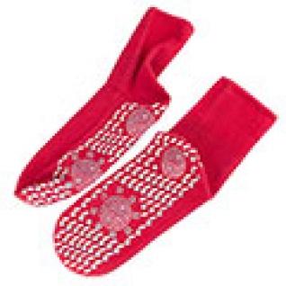 Турмалиновые носки красные (пара), размер универсальный-5558670