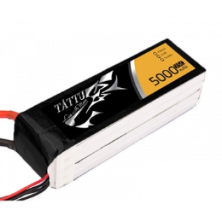 Аккумулятор Gens ACE TATTU LiPo 5000mAh 14.8V 35C 4S1P - XT60 (батарея)-1972565