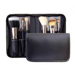 LIMONI Подарочный профессиональный набор кистей для макияжа PRO STYLE COMPACT - 6 кистей + чехол-2147796