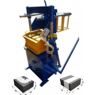 Вибропресс для производства теплоблоков-6021656
