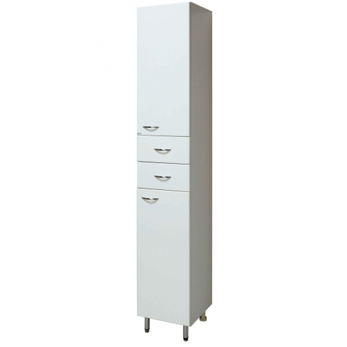 Шкаф-пенал Runo 30 правый, белый-6794516