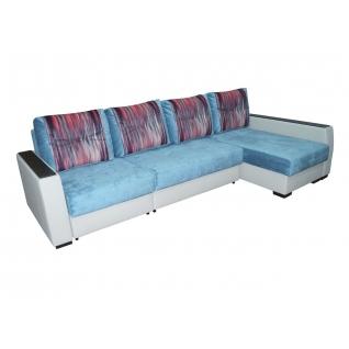 Палермо 9 МДФ Гранд угловой диван-кровать с сектором-5271096
