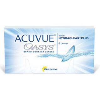 ACUVUE OASYS with HYDRACLEAR Plus. Оптич.сила -6,0. Радиус 8,4-4080337