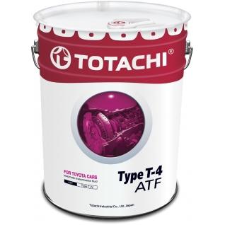 Трансмиссионное масло TOTACHI ATF TYPE T-IV 20л-5920521