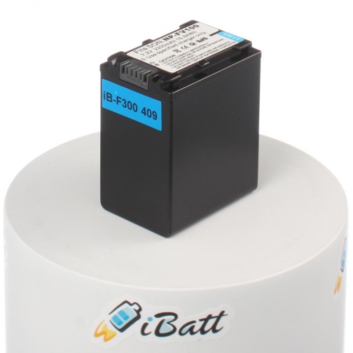 Аккумуляторная батарея iBatt для фотокамеры Sony DCR-SX33E. Артикул iB-F300 iBatt-6803928