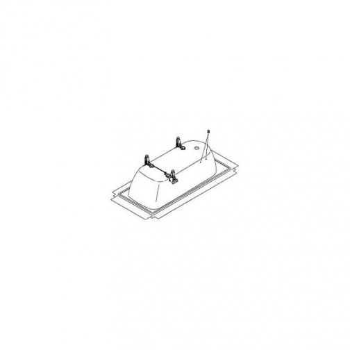 Ножки универсальные KALDEWEI ALLROUND-multi для ванн 140-180 см. 6926368 2