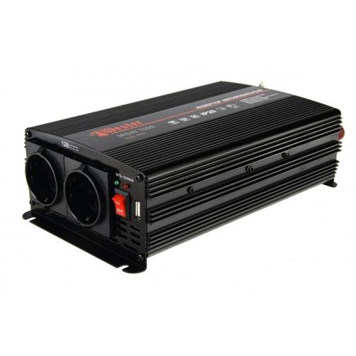 Преобразователь инверторный а/м WESTER MSW1300 24-220В+USB; 1300Вт ...-1210185