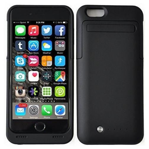 Чехол аккумулятор для iPhone 6 3500 mAh черный-5246061