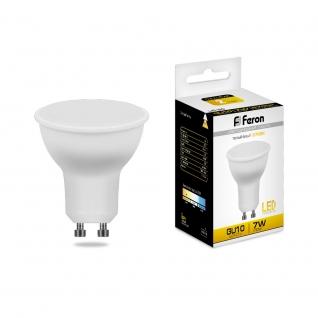 Светодиодная лампа Feron LB-26 (7W) 230V GU10 2700K матовая-8164303