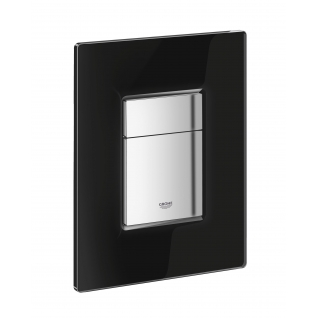 Панель смыва для унитаза Grohe Skate Cosmopolitan Glass 3 режима смыва черный бархат 38845KS0-6757938