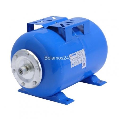Гидроаккумулятор Belamos 24СT2 синий, горизонтальный 5005575