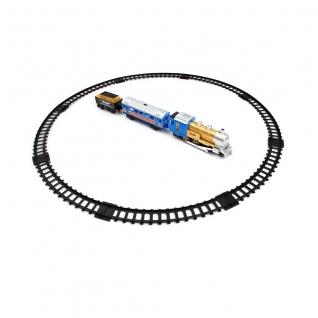 """Железная дорога """"Мой первый поезд"""" (свет, звук, движение, дым), 11 элементов Play Smart-37716530"""