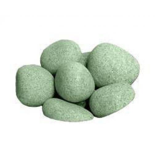 Камень для бани Жадеит шлифованный (ведро 20 кг)-2063947
