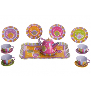 Набор посуды Tin-Tea Set, 15 предметов Shenzhen Toys-37720535