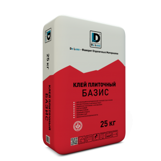 """Клей плиточный """"Базис"""" De Luxe 25 кг-6433176"""