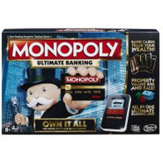 Настольная игра Монополия с банковскими картами Hasbro(обновленная)B6677121