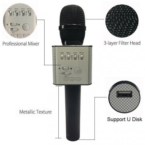Микрофон с динамиком (караоке)-6892858
