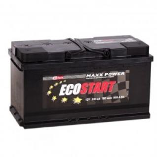 Автомобильный аккумулятор ECOSTART ECOSTART 100R 800А обратная полярность 100 А/ч (353x175x190)-5789027