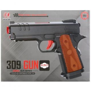 Пистолет С Мягкими Пулями На Присосках+С Гелевыми Пулями+С Шариками 309-37792367
