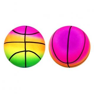 Мяч Баскетбол Радужный, 22см В Пак.