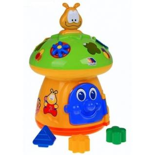 """Развивающая игрушка-сортер """"Гриб"""" (свет, звук) Полесье-37743815"""