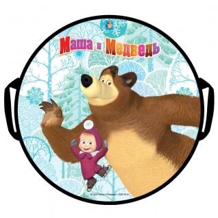 """Ледянка """"Маша и Медведь"""", круглая, 52 см 1 TOY-37703861"""