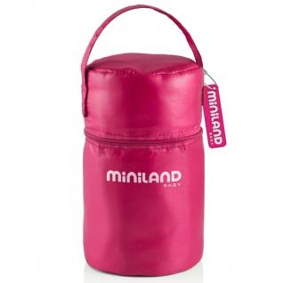 Термосумка Miniland Термосумка с 2 мерными стаканчиками розовая