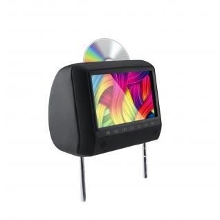 """Подголовник с монитором 7"""" и встроенным DVD плеером FarCar-Z006 (Biege)-36994965"""