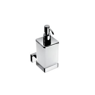 Дозатор для жидкого мыла настенный, хром Bemeta Plaza 118209049