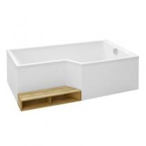 Отдельно стоящая ванна Jacob Delafon Bain-Douche Neo 170x90 E6D002R-00