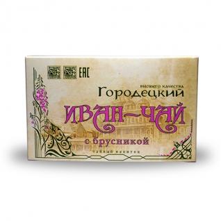 Иван-чай Городецкий с брусникой, 100 г, коробка-822476