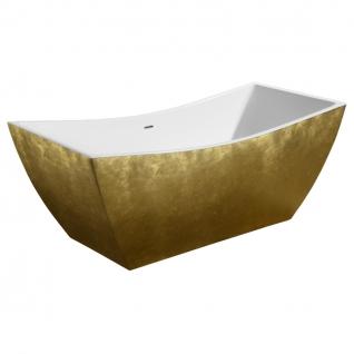 Отдельно стоящая ванна LAGARD Issa Treasure Gold