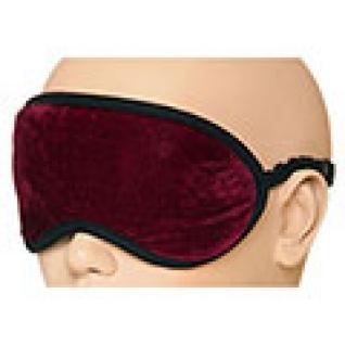 Турмалиновая повязка-очки с магнитами для глаз, бордовая-5558697