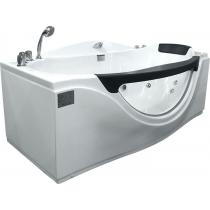 Акриловая ванна Gemy с гидромассажем (G9072 B)