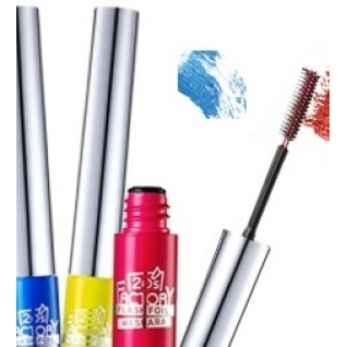 Косметика VOV  - Тушь для ресниц цветная VOV 20's Factory Flash foil Mascara 2