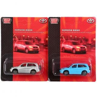 """Машина """"Технопарк"""" Металл. Toyota Rav4 7,5см На Блистере (Русс. Уп.)-37797078"""