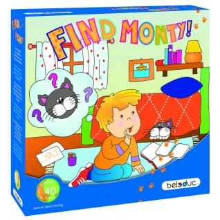 Развивающая игра Beleduc Найди кота Монти!