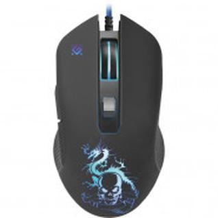 Мышь компьютерная Defender Sky Dragon GM-090L, 6кн., 800-3200dpi, черная