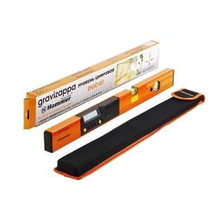 Уровень электронный HAMMER DUC 40 GRAVIZAPPA 9В, точность 0.5мм/м, 0,2° + ...-1209983