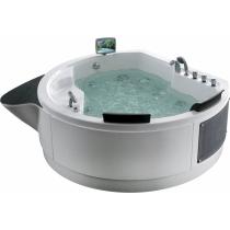 Акриловая ванна Gemy с гидромассажем (G9063 O)