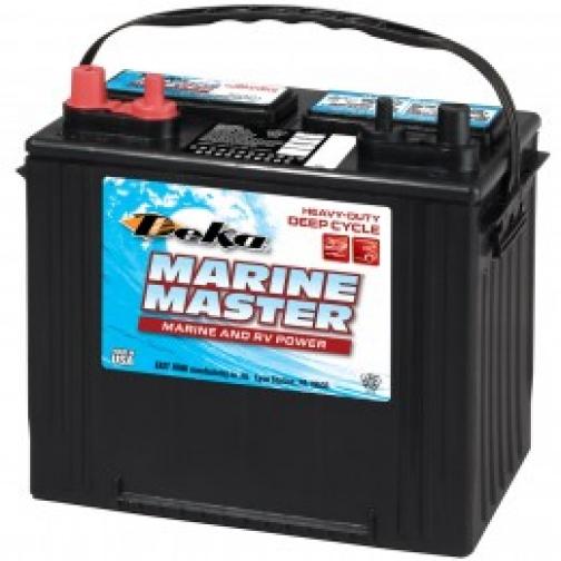 Аккумулятор лодочный DEKA DEKA MARINE DC24 DT (стартерный глубокого разряда) 500А прямая полярность 95 А/ч (260x171x236)-6000442
