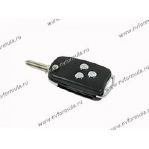 Ключ замка зажигания УАЗ выкидной под микросхему ДУ-431810