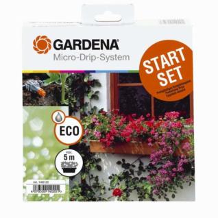 Комплект Gardena для цветочных ящиков, базовый