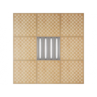 Потолочная плита Presko Техно 59.5х59.5